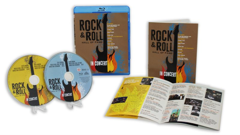 rock and roll hall of fame concert blu-ray set