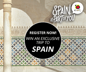 Spain Vacation Giveaway