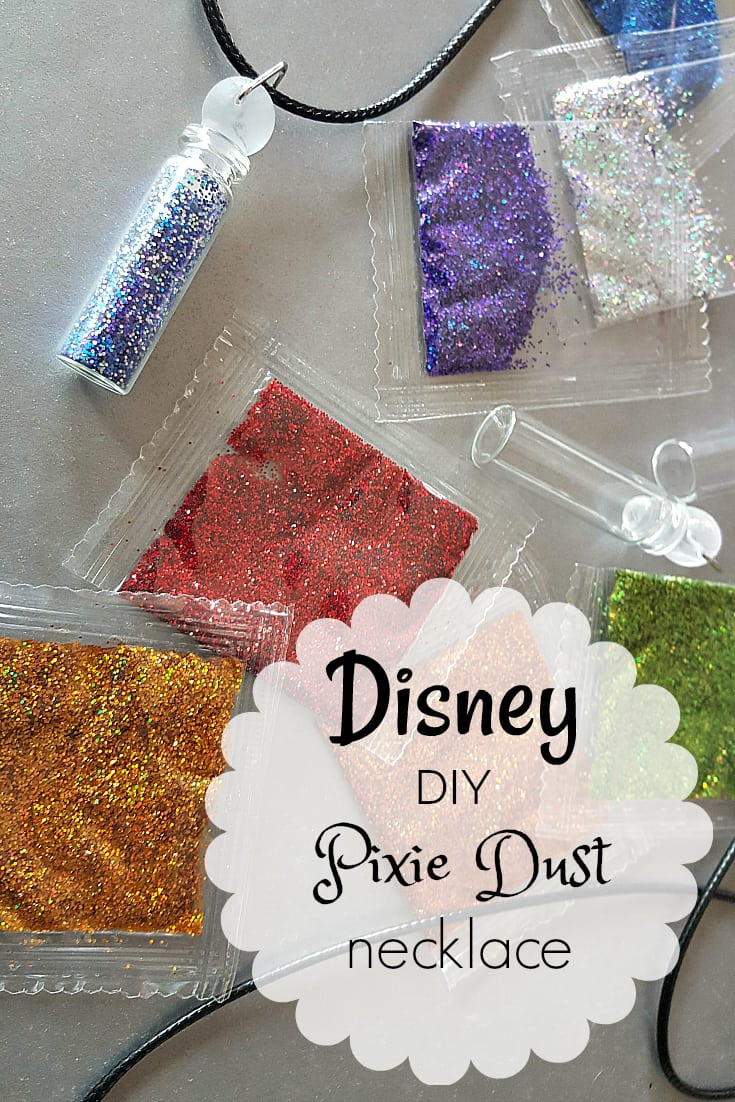 Disney DIY Pixie Dust Necklace