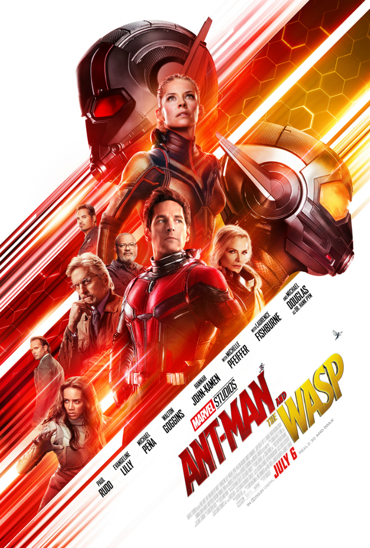Marvel Studios Ant Man and Wasp Movie Poster