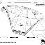 Millennium Falcon Coloring Page