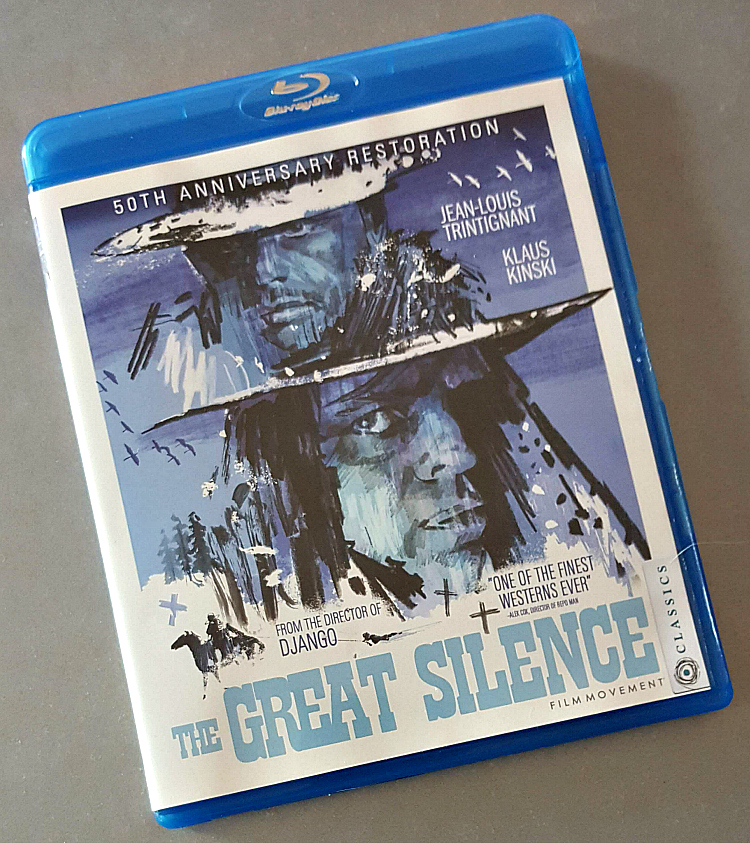 The Great Silence movie 50th Anniversary Restoration Blu-ray