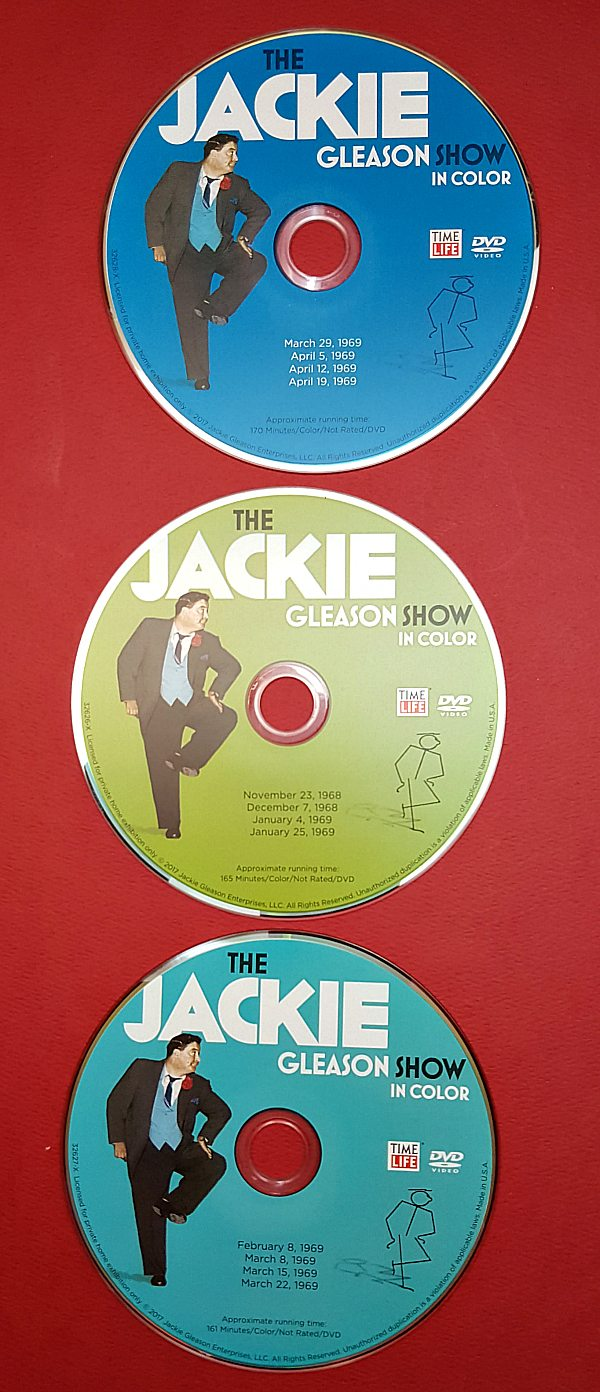 The Jackie Gleason Show in Color DVD Set