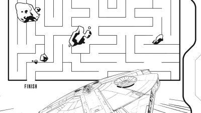 Free Star Wars Maze