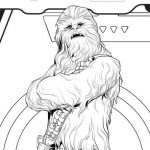 Chewbacca Coloring Page – Free Star Wars pdf
