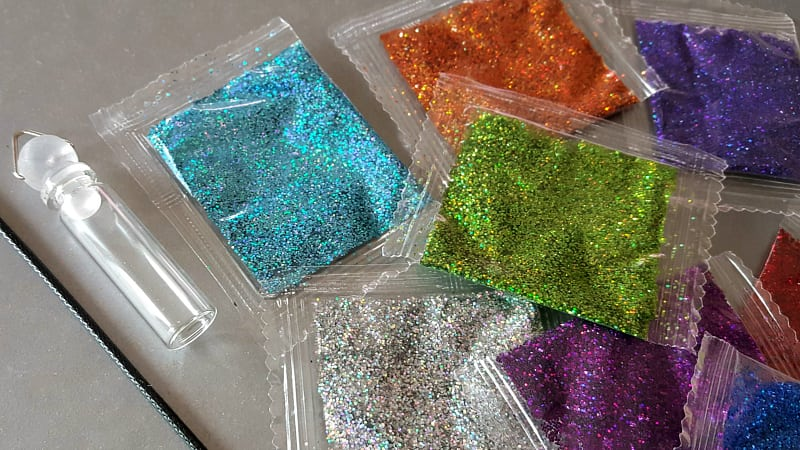 fairy glitter diy