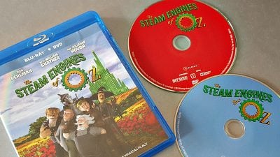 Steam Engines of Oz Blu-ray + DVD