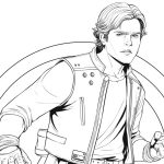 Han Solo Coloring Page – Free Star Wars Printable