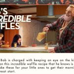 Incredible Waffles Recipe from Incredibles 2