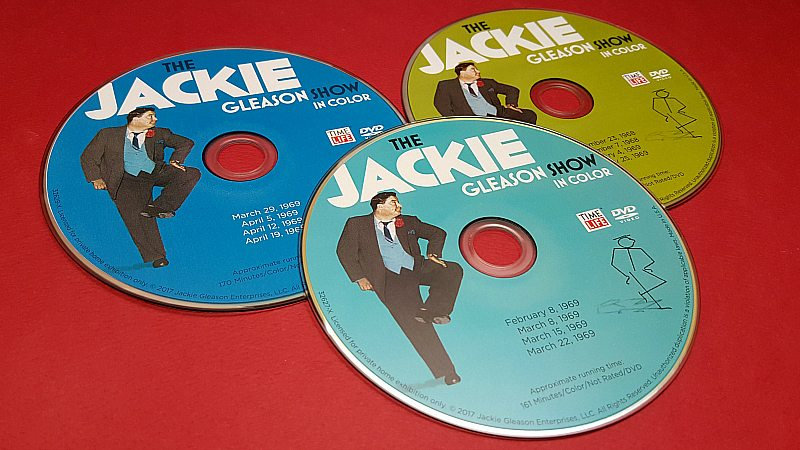 jackie gleason in color dvds