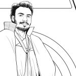 Lando Coloring Page – Free Disney Star Wars Printable