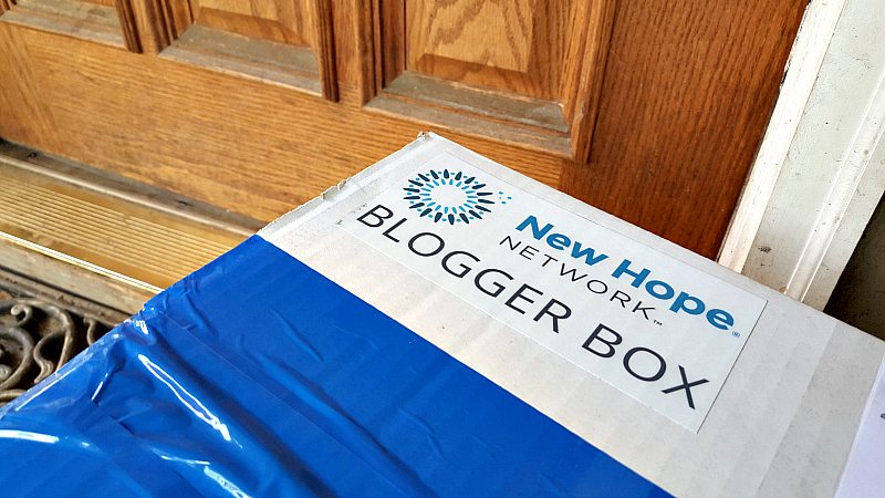 new hope blogger box package
