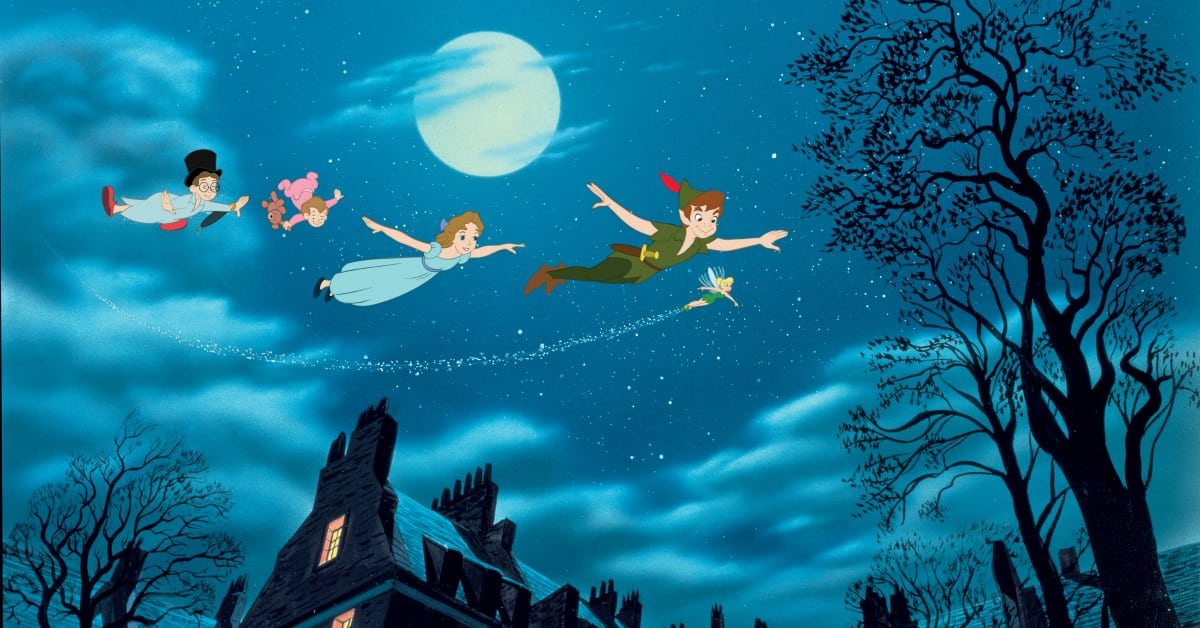 peter pan wendy flying