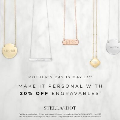 Engravables from Stella and Dot