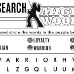 Star Wars Word Search – Mighty Wookie
