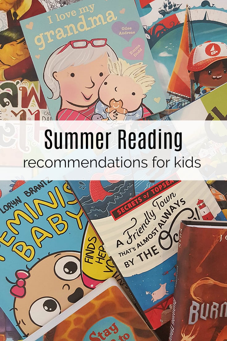 Booklist - Summer Reading Recommendations for Kids