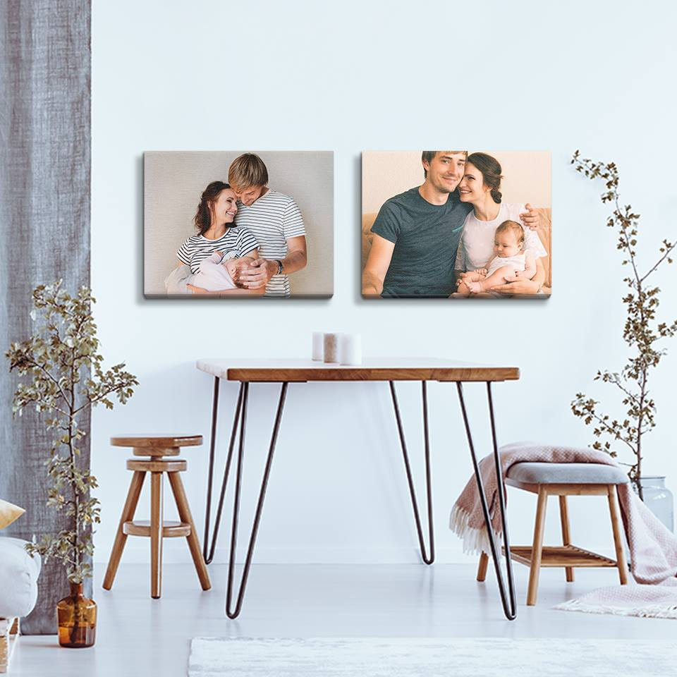Father's Day is almost here, so now is the time to think about gifts. Canvas prints are a great way to bring a smile to dad's face now and in the future.
