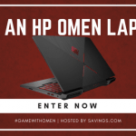 HP Gaming Laptop Giveaway