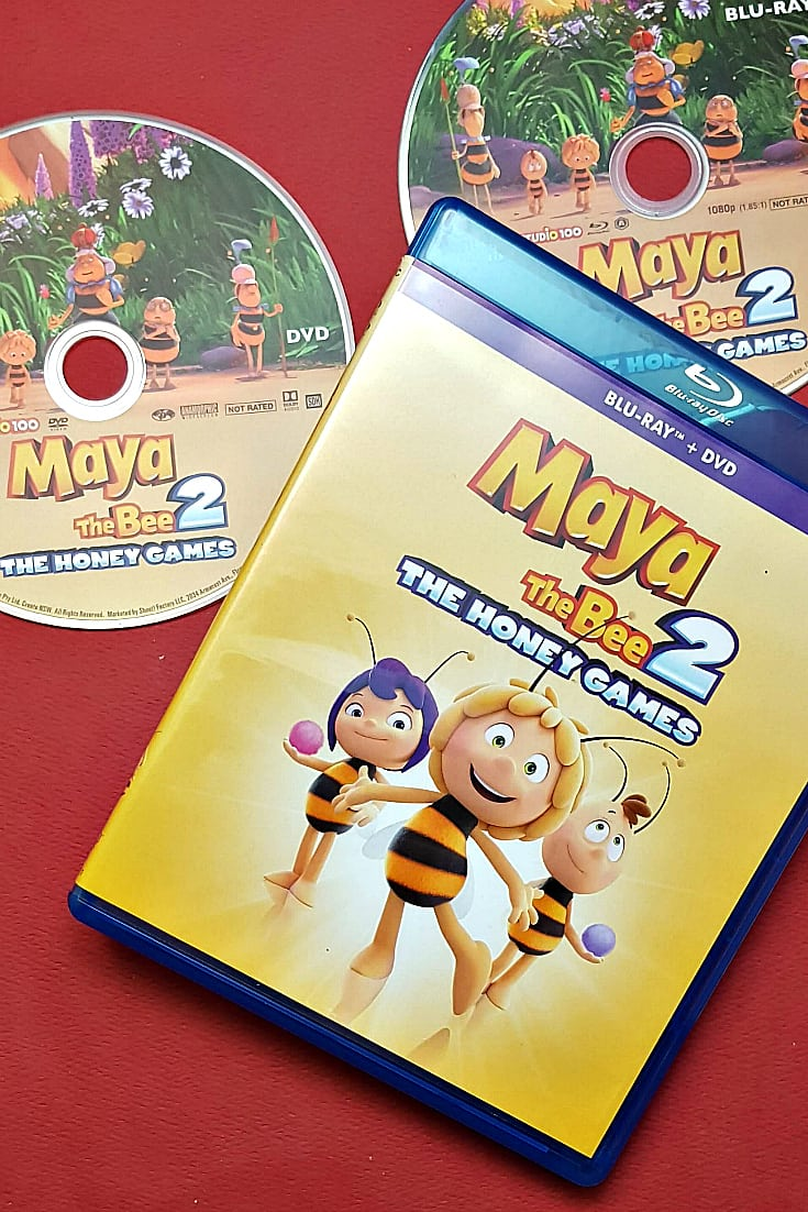 Maya The Bee 2 The Honey Games Blu-ray DVD Combo Pack