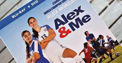 Soccer Movie Giveaway – Alex & Me Blu-ray + DVD – Ends 6/28/18