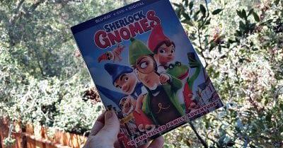 sherlock gnomes bluray dvd