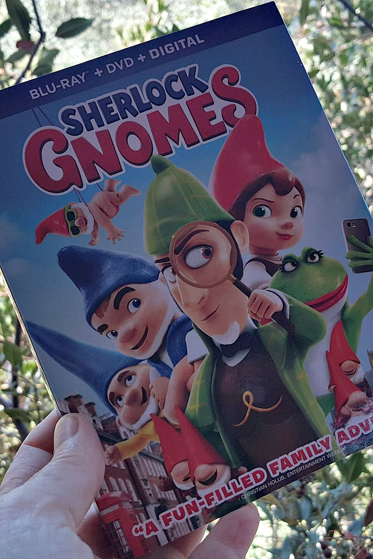 Sherlock Gnomes Blu-ray DVD Combo Pack - Family Movie