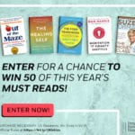 Book Sweepstakes – Win 100 Books