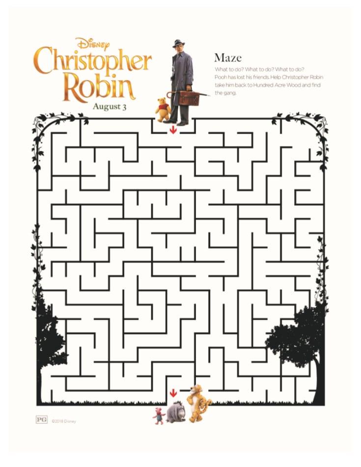 Christopher Robin Maze