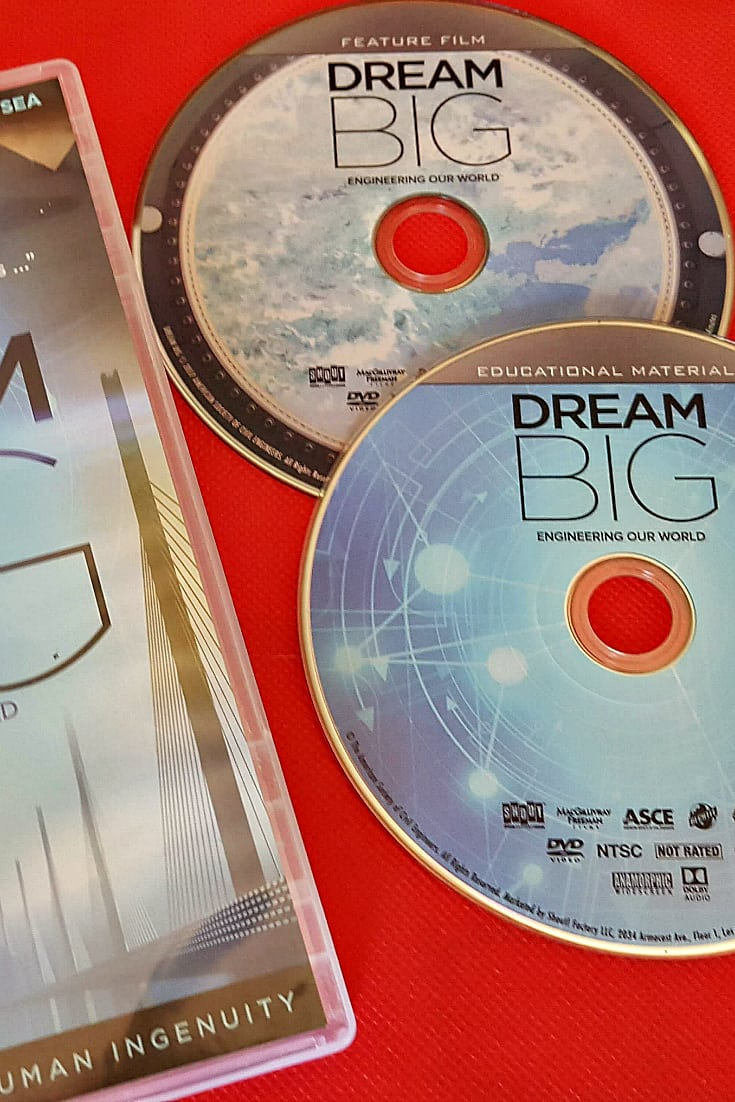 IMAX Dream Big DVD Set - Engineering Our World