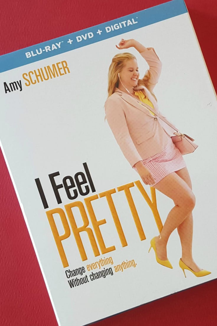 I Feel Pretty Blu-ray DVD starring Amy Schumer