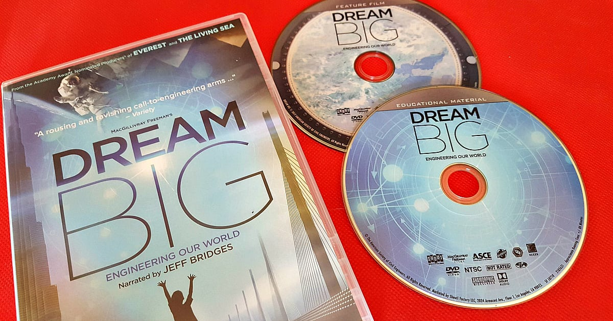 imax dream big dvd