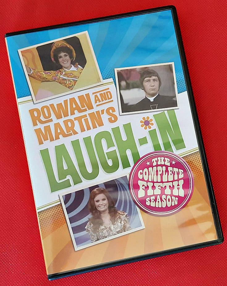laugh in 5 dvd case