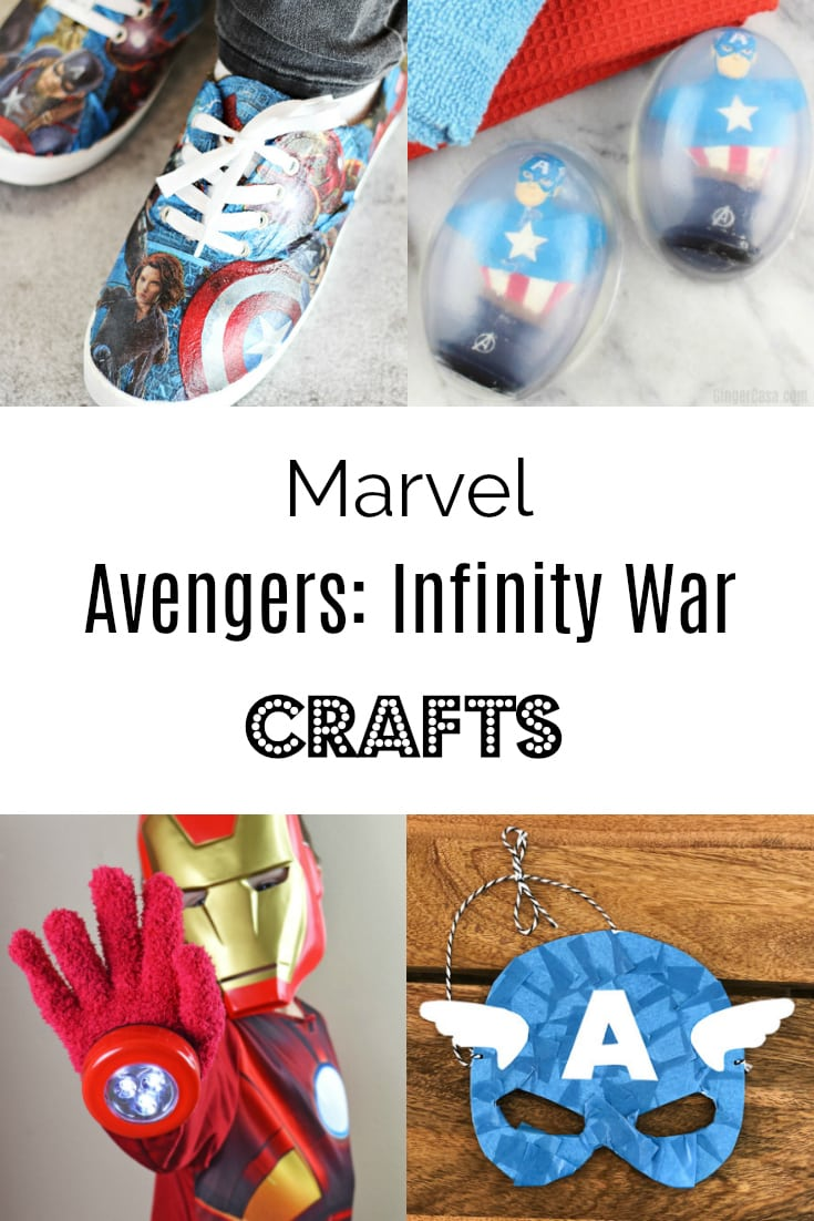 marvel avengers crafts