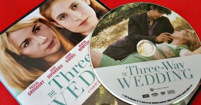 Three Way Wedding DVD Giveaway – 5 Winners – Ends 8/2/18