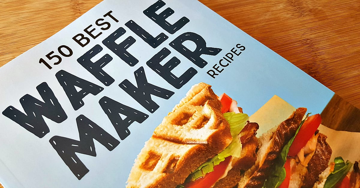 waffle maker recipe cookbook