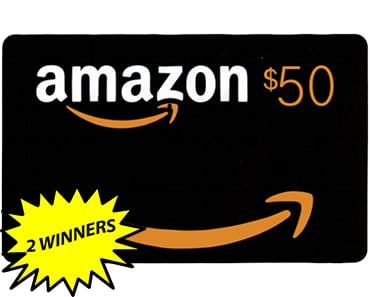 Amazon Giveaway – 2 Winners – Ends 8/24/18