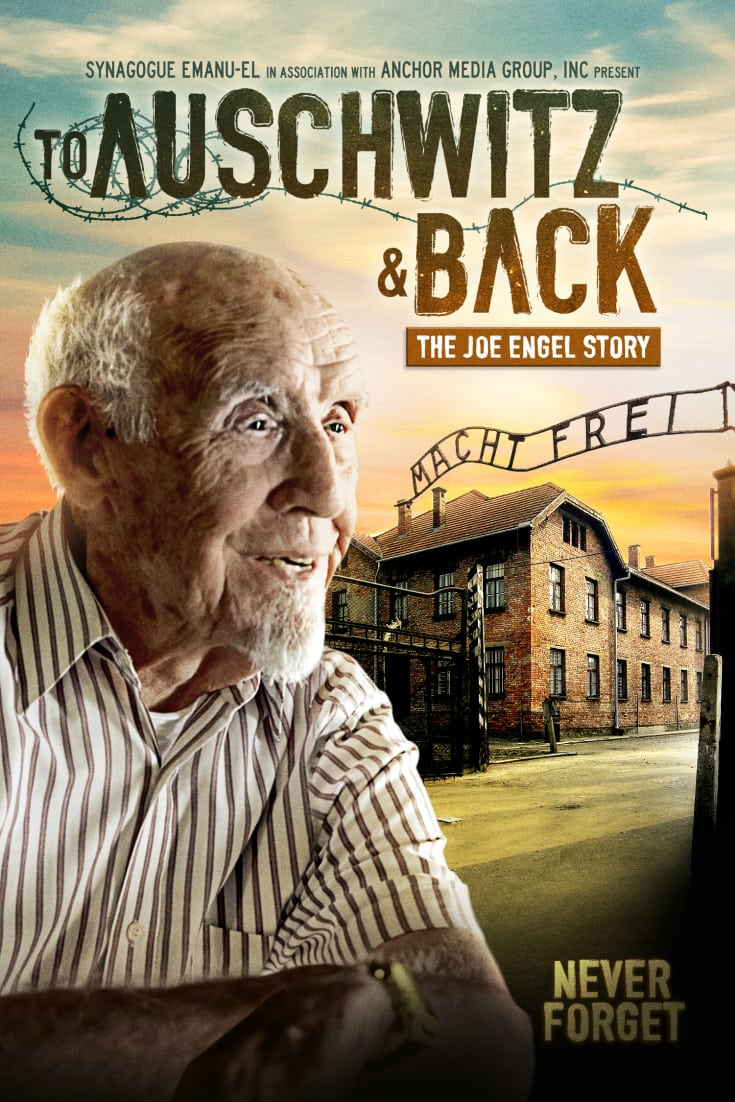 To Auschwitz and Back - The Joe Engel Story Holocaust Documentary Movie DVD