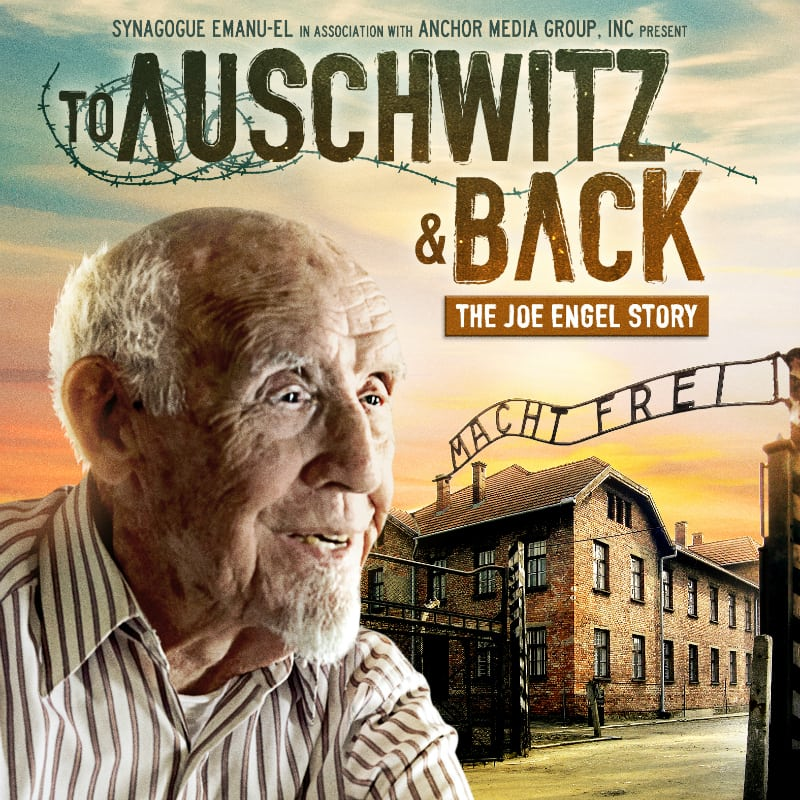 DVD To Auschwitz and Back Joe Engel