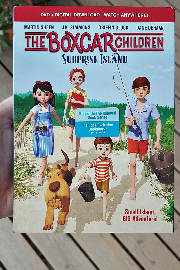 dvd boxcar children movie surprise island