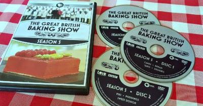 dvd set great british baking show