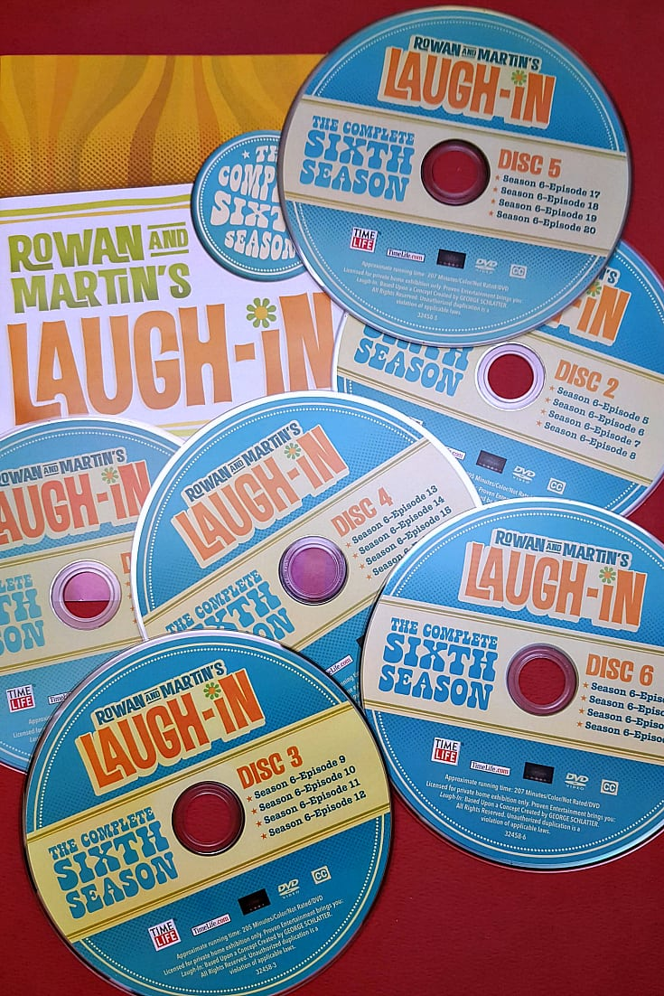 dvd set laugh in 6th season