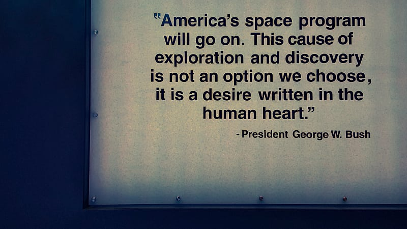 ksc george w bush