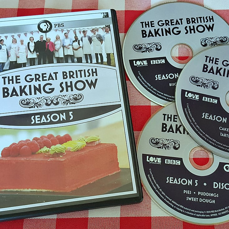 the great british baking show dvds