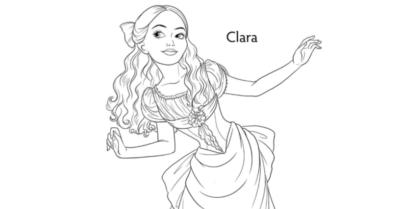 clara coloring page