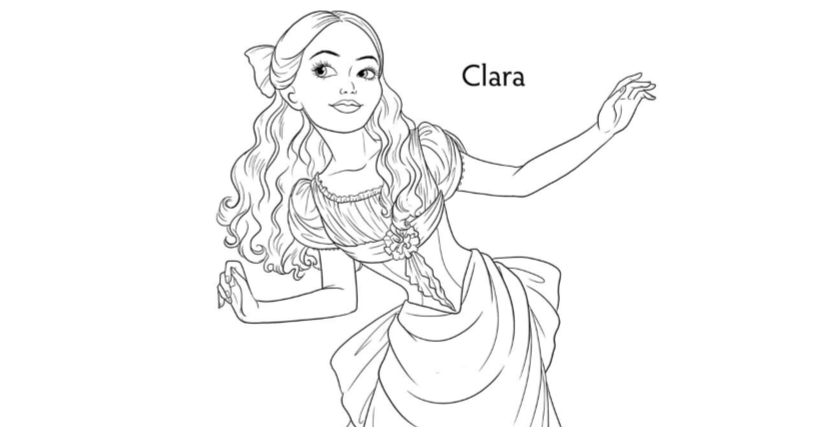 nutcracker clare coloring pages - photo#7