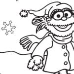 Elmo Explores Coloring Page Printable