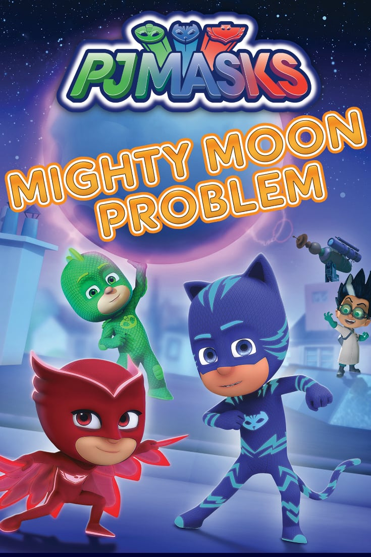 DVD PJ Masks Mighty Moon Problem
