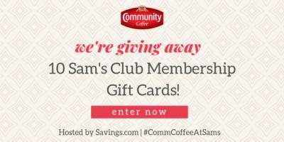 Sams Gift Card Giveaway – Ends 9/25/18