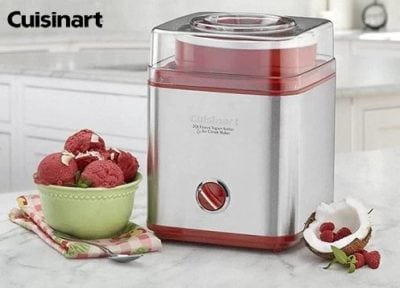 cuisinart ice cream maker giveaway