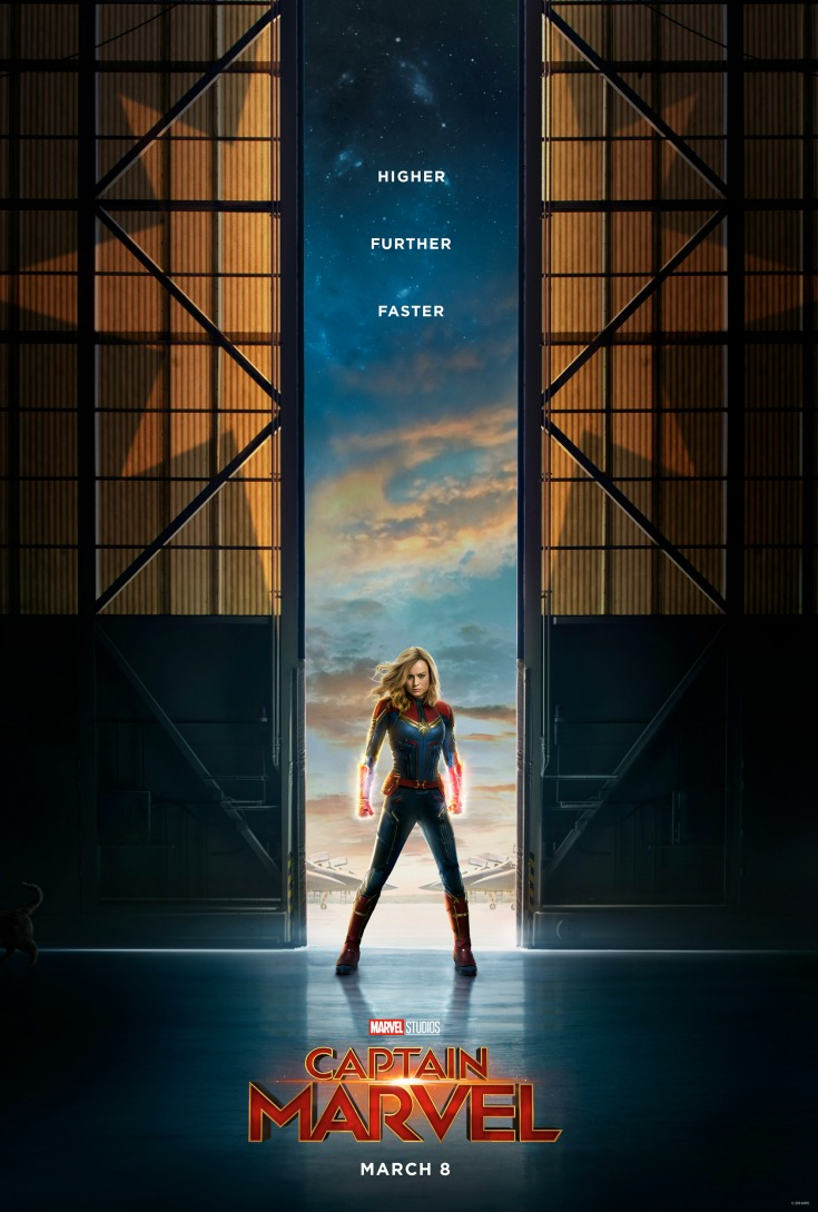 disney captain marvel poster